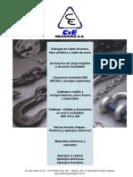 Catalogo de Cables, Ganchos, Etc