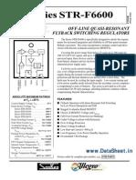 STR6653 Datasheet