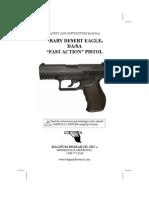 """Baby Desert Eagle DA/SA """"Fast Action"""" Pistol"""