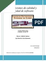 Definiciones de Calidad y Calidad de Software