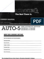 Browning- Auto-5 Owner's Manual