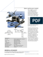 General Dynamics- F-16 20mm gatling gun system