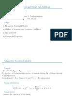 Point Estimation Slides