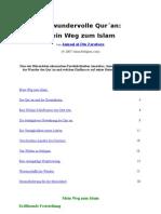 Der Wundervolle Quran Mein Weg Zum Islam