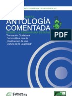 ANTOLOGiA COMENTADA 2011-2012 asignatura