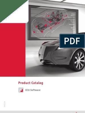 Catalog ECU Software en | Emulator | Embedded System