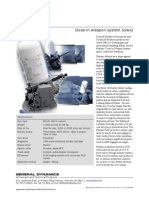 General Dynamics- Phalanx close-in weapon system (ciws)