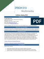 Edtech513 Syllabus