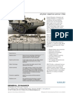 General Dynamics- SRAT II stryker reactive armor tiles