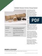 General Dynamics- MACS M231/M232A1 Modular Artillery Charge System
