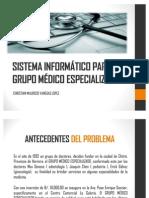 Sistema Informatico - Grupo Medico Especializado