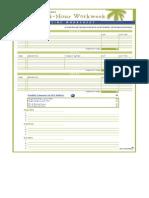Tim Ferriss - Dreamline Worksheet