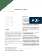 Usos de la glutamina en pediatría