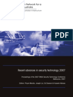 Priyan Mendis et al- Recent advances in security technology 2007
