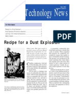 Recipe for a Dust Explosion
