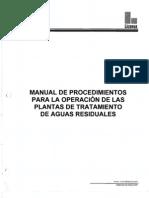 Manual de Operaciones de Plantas de Tratamiento
