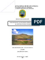 Evaluacion Recursos Hidricos Sistema Riego Acobamba