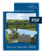 2010 Annual Report Tri-Valley Conservancy Newsletter
