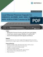 Motorola DSR Ethernet Upgrade Guide 5-3-2010