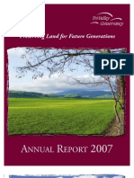 2007 Annual Report Tri-Valley Conservancy Newsletter