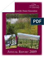 2009 Annual Report Tri-Valley Conservancy Newsletter
