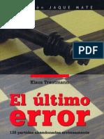 El Ultimo Error