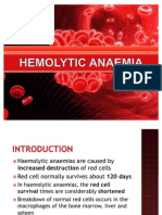Hemolytic Anaemia