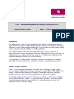 CIMA F3 (P3) Risk and Control Strategy Syllabus