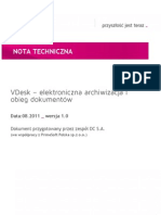 VDesk Nota techniczna