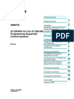 S7-GRAPH - Programming Sequential Control Systems