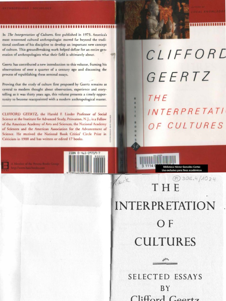 the interpretation of cultures essay Free essay sample on culture and individual beliefs, culture and individual beliefs essay example find other free essays, term papers, research papers and dissertations on culture topics here.
