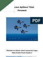 Program Aplikasi Tiket Pesawat