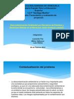 Descontaminación Ambiental por Derrames de Petróleo y Desechos