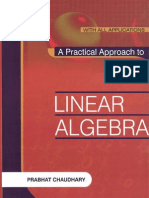 a Practical Approach to Linear Algebra