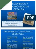 MECANÍSMOS Y DIAGNÓSTICO DE CEFALEA definitivo
