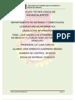 ion Informatica-los 4 Poderes en Mexico
