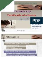 Slide đề tài phần mềm  ettercap