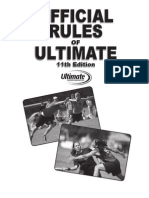 UPA-Ultimate Frisbee Rules