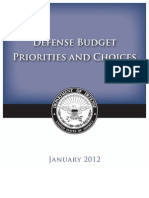 Defense Budget White Paper[1]