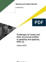 Applying IFRS 10 Banks