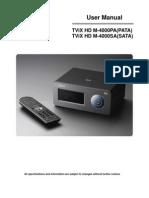 TViX M4000PA English