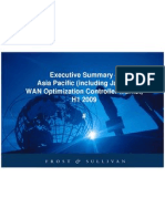 Frost & Sullivan Asia Pacific (Including Japan) WAN Optimization Controller Market H1'09 - Executive Summary