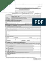 CIT-D Informacja podatnika podatku dochodowego od osób prawnych o otrzymanych przekazanych darowiznach