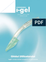 I-Gel User Guide Romanian