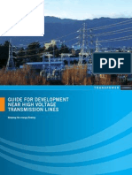 Guide for Near High Voltage Transmission Lines
