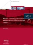 Market Access Opportunities for ACP Countries in Environmental Goods