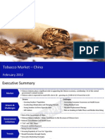 Market Research Report :Tobacco Market in China 2012