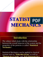 Statistical Mechanics(22!11!2011)