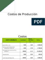 Costos de Producción Ppts