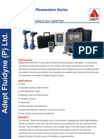 Ultrasonic Flowmeter Series